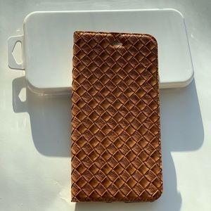 Accessories - iPhone 7 Plus /8 Plus Braided Leather Case &Screen